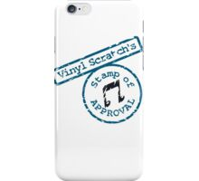 Vinyl Scratch's Stamp iPhone Case/Skin