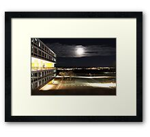 Air Force Academy At Night Framed Print