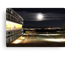 Air Force Academy At Night Canvas Print