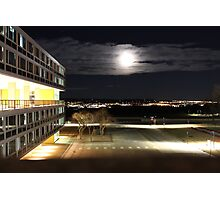Air Force Academy At Night Photographic Print