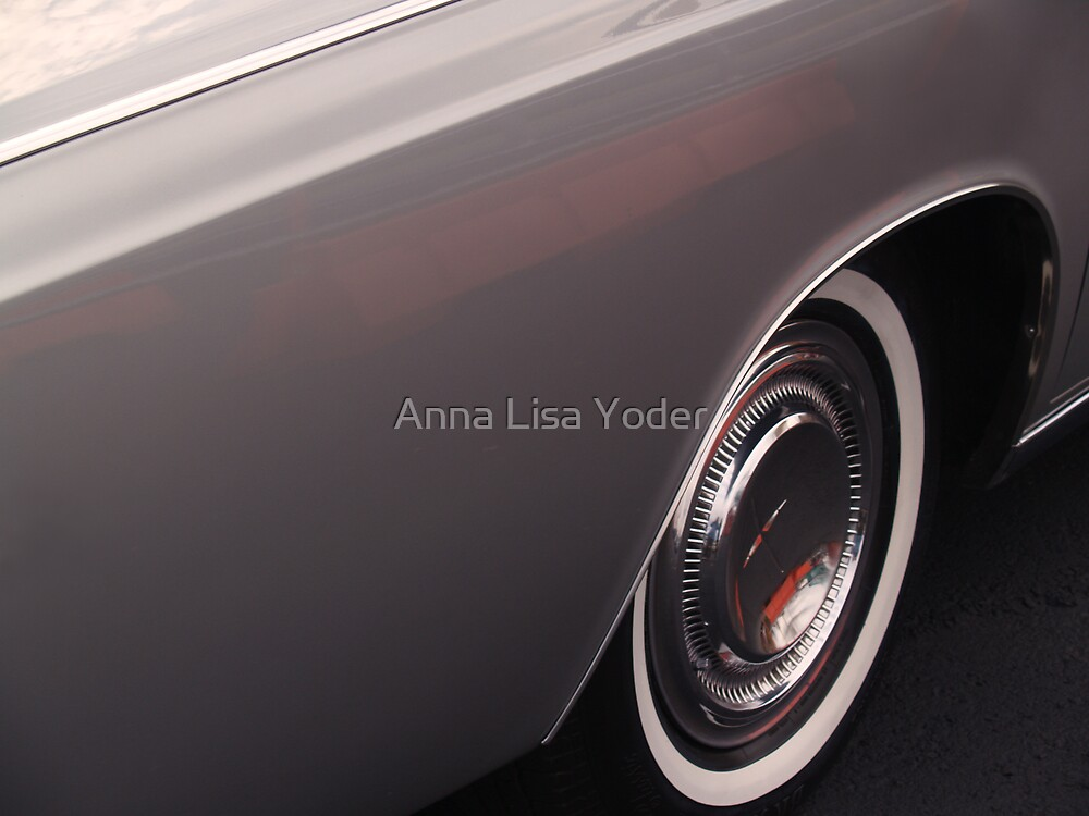 1968 Lincoln Continental Fender by Anna Lisa Yoder