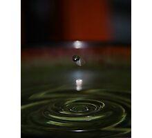 Green Plunge Photographic Print