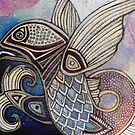 Flying Fish by Lynnette Shelley