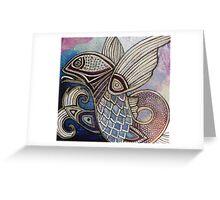 Flying Fish Greeting Card