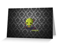 Cute little Zombie Greeting Card