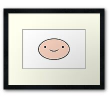 Adventure Time - Fin Framed Print
