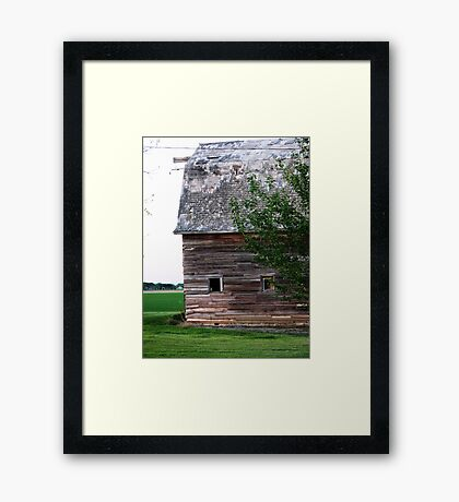 Perfectly Weathered Framed Print