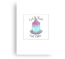 Let Them Eat Cake Metal Print