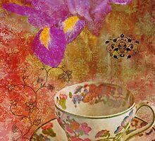 Tea Cup Pink by Lisa Wilson