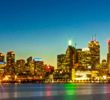 Toronto Skyline Sticker