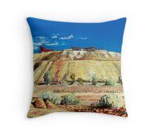 The Line of Lode - Broken Hill Throw Pillow