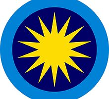 Roundel of the Royal Malaysian Air Force  by abbeyz71