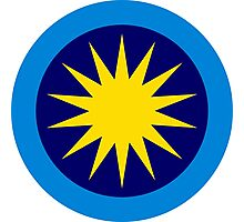 Roundel of the Royal Malaysian Air Force  Photographic Print
