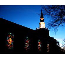 """Church Lights"" Photographic Print"