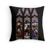 sanctuary window Throw Pillow