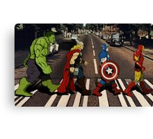 Avenger Road Canvas Print