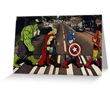 Avenger Road Greeting Card