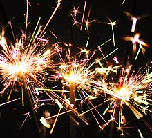 Sparklers by Stephen Balson