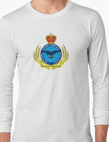Crest of the Royal Malaysian Air Force Long Sleeve T-Shirt