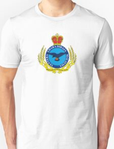 Crest of the Royal Malaysian Air Force Unisex T-Shirt