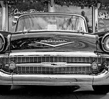 Black Antique Car by vintageblue