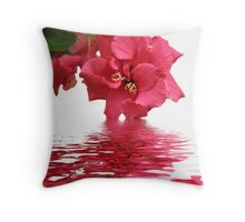 Beauty of Hibiscus Throw Pillow