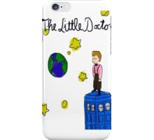 The Little Doctor (open background) iPhone Case/Skin
