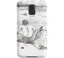 3 RD BEACH AGAIN - JULY 26 2012(C2012) Samsung Galaxy Case/Skin