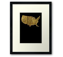 The United States of BHO Framed Print