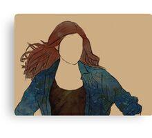 The Girl Who Waited, Amy Pond Canvas Print
