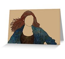 The Girl Who Waited, Amy Pond Greeting Card