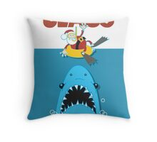 Claus! Throw Pillow