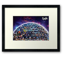 Attractions of Epcot Framed Print