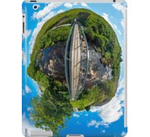 Footbridge over Glen River, Carrick, SW Donegal iPad Case/Skin