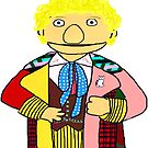 Sixth Doctor Muppet Style by Qooze