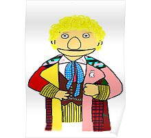 Sixth Doctor Muppet Style Poster