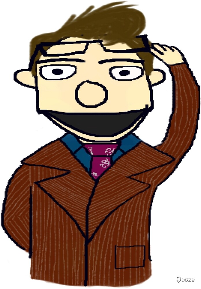 Tenth Doctor Muppet Style by Qooze