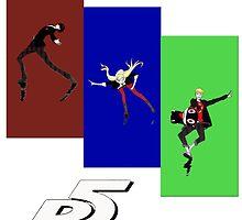 Persona 5 Skating Shirt by Schad Lloyd