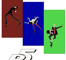Persona 5 Skating Shirt by Soapy Lycanthrope