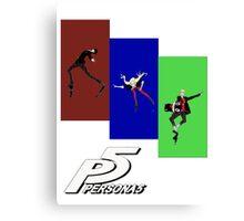 Persona 5 Skating Shirt Canvas Print