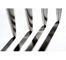 Tine Lines Photographic Print