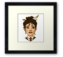 Hermione Bust Framed Print