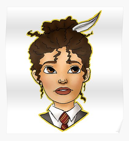 Hermione Bust Poster