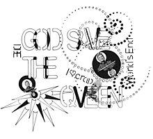 God Save The QVeen - Vivienne Icons  Photographic Print