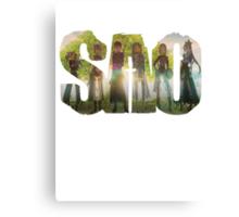 Sword Art Online Logo 2 Canvas Print