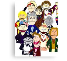 The Doctors Muppet Style Canvas Print