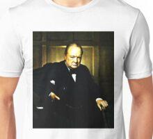 Winston Churchill, Prime Minister of UK, 1941  Unisex T-Shirt