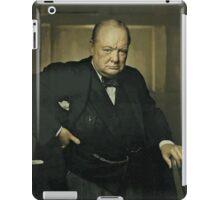Winston Churchill, Prime Minister of UK, 1941  iPad Case/Skin