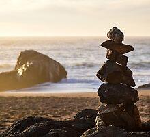 Stacked Rocks by smilinginsonoma