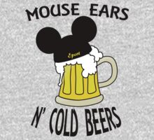 Mouse Ears N' Cold Beers by Jeff Newell